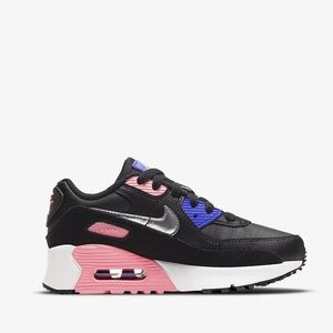 🌸 NIKE AIR MAX 90 Sneakers Shoes NEW Pink Black